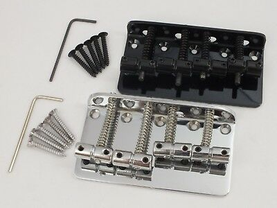 Vintage 4 String BASS GUITAR BRIDGE for Precision & Jazz Bass style bass guitars