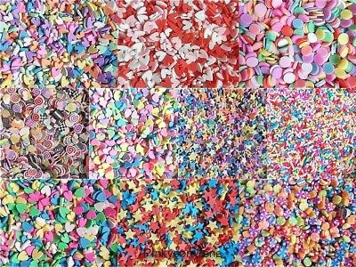 10G KAWAII FAKE Fimo Clay Slices Sprinkles Slime Phone Decoden CRAFTS USE  *UK*