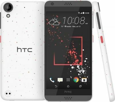 "New HTC Desire 530 White 16GB 4G LTE GPS NFC 5"" Lcd Android Unlocked Smartphone"