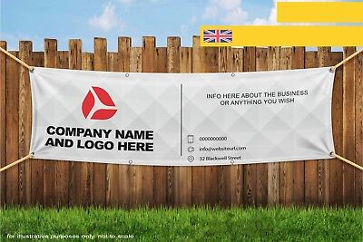 Your Custom Logo Company Business Banner Heavy Duty PVC Banner Sign 3356