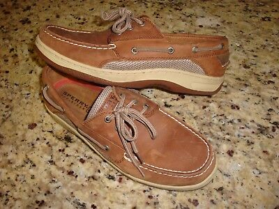 5e959f4d2ba531 SPERRY INTREPID BOAT SHOES Men s Sz 10 M TOPSIDERS LOAFERS  Excellent   SPERRY S