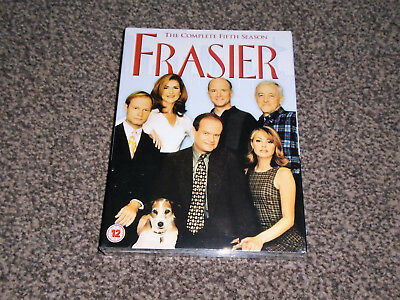 FRASIER : THE COMPLETE FIFTH SEASON  (5th) - NEW SEALED DVD BOXSET (FREE UK P&P)