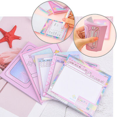 creative computer game shape memo pad diy diary sticky notes office supplies TB