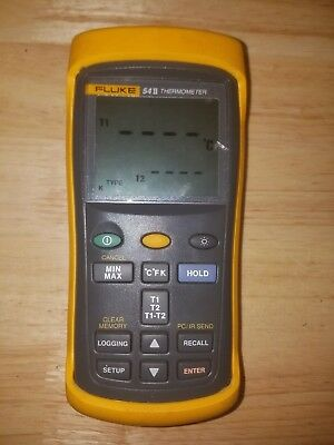 Fluke 54 II Dual-Input Digital Thermometer with Data Logging