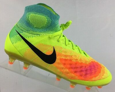 new concept 50181 c4c67 Nike Magista Obra II AG-PRO Soccer Cleats 844594-709 Mens Size 7.5