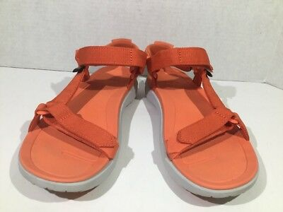 62ac1a1a21df Teva Womens Size 8 Sanborn Tiger Lily Strappy Sport Water Sandals Shoes  ZU-931