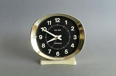 Vintage Retro Big Ben Westclock Wind-up Alarm Clock