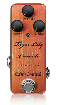 One Control Tiger Lily Tremolo BJF Series FX Guitar Effects Pedal
