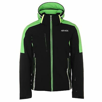 Nevica Banff Ski Jacket Mens Gents Coat Top Water Repellent Ventilated Hooded