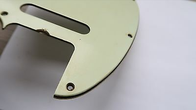 '61-'64 Fender Telecaster Nitrate Mint Green Celluloid Pickguard '62 70 Tele 60s
