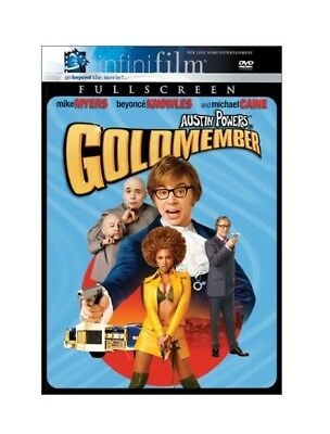 Austin Powers in Goldmember DVD 2002 Full Screen Infinifilm Mike Myers Beyonce
