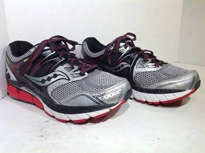 Saucony Mens Size 7 Extra Wide Redeemer ISO Black Athletic Running Shoes  ZT-815 93de80ed5