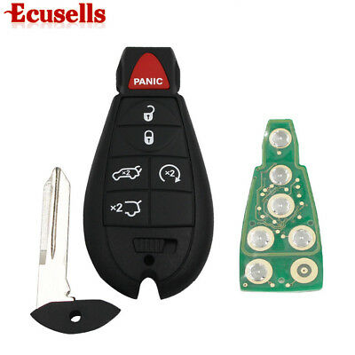 6 Buttons for Chrysler Town Country 2008-2012 Remote Key 433MHZ 5+1 Button ID46