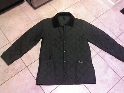 Nwot Barbour Eskdale Quilted Jacket D372 Never Worn Sz S Made In England
