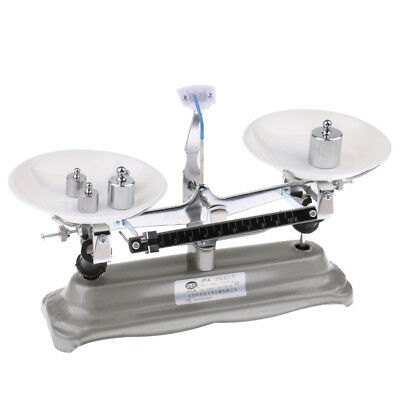 500g Table Balance Scale Mechanical Scale with Weights School Physics Tool