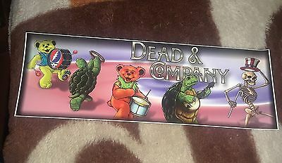 DEAD AND COMPANY VERY COOL BUMPER STICKERS  3 for $5