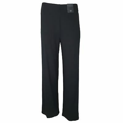 EX M&S Marks And Spencer Collection Wide Leg 4 Way Stretch Trousers RRP £25.00