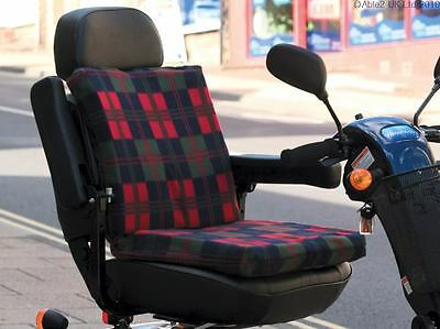 2 way Sculptured Scooter Support Cushion for seat and back Comfort Aid