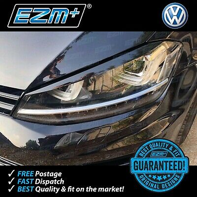 EZM Volkswagen VW Golf 7 MK7 R GTI GTD Headlight Brow Stickers Decals