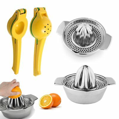 Useful Juice Maker Squeezer Fruit Orange Citrus Lemon Hand Held Manual Tool CU