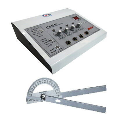Buy Advanced Electrotherapy Physiotherapy  4ch+free  Goniometer  180 degree