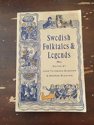 1994 Swedish Folktales & Legends by Lone Thygesen Blecher & George Blecher
