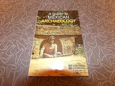 Vintage 1971 A Guide To Mexican Archaeology Mexico