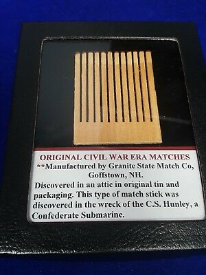 Original Civil War Era Matches