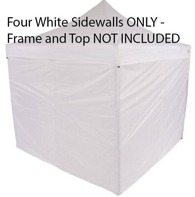SIDE ENCLOSURE WALL 10x10 Panels Zipper Wall Kit For Pop Up