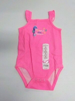 "Girls Size 3 Mos Jumping Beans Pink ""Mommy's Little Treasure"" Bodysuit Nwt#10240"