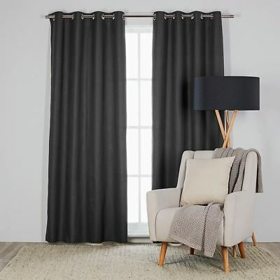 NEW freedom Berle 240X260Cm Blockout Charcoal