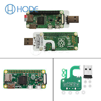 Original Raspberry Pi Zero V1.3/Pi Zero W Board  Zero Quick Plug USB UK