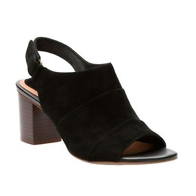 4663de338421 CLARKS NEW WOMEN S Ralene Shine Sandal Black Suede 9 -  75.78