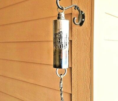 Harley-Davidson Bell-wind chime recycled fire extinguisher beautiful sound