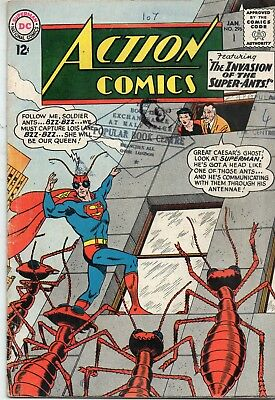 Action Comics # 296 / Dc 1963  / V.good+ / Invasion Of The Super-Ants.