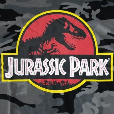 17029a57934f4 Jurassic Park World Men s Sleeveless Large T-Shirt Licensed Hoodie T-Rex  Movie