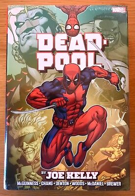 New Sealed Deadpool Omnibus By Joe Kelly Marvel First Print Oop Hardcover Cable