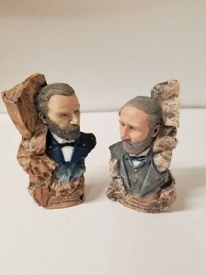 Avery Creations Figures Ulysses S. Grant & Robert E. Lee 1994