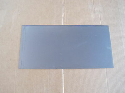 """18ga Steel Plate, Mild Steel, A36, 4.5"""" x 30"""" (~.05 Thick), Rectangle"""