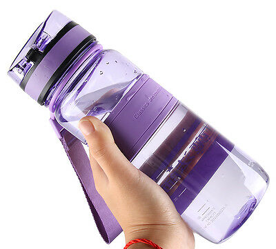 650ML Water Bottle Outdoor Bicycle Cycling Sports Hiking Gym Drinking Bottle Cup