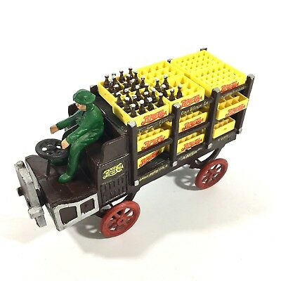 Pepsi Cola Cast Iron Wagon With Crates And Driver Charlotte