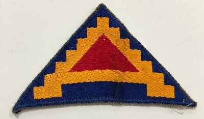US Army Seventh 7th Patch - Pyramid of Power 7 Steps to Hell - Original