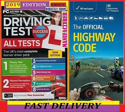 2018 Driving Theory Test / All Tests & Hazard Perception PC DVD NEW 2018*Atpc