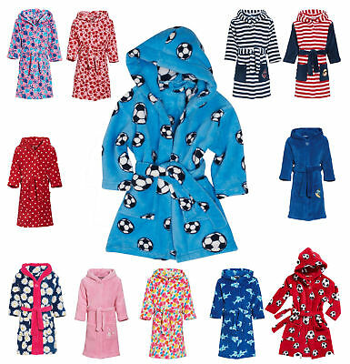 Bademantel Morgenmantel Playshoes Polyester Fleece Ökotex 100 Schadstofffrei