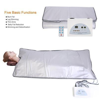 Far Infrared Anti-aging Sauna Blanket Body Slimming Therapy Beauty Machine
