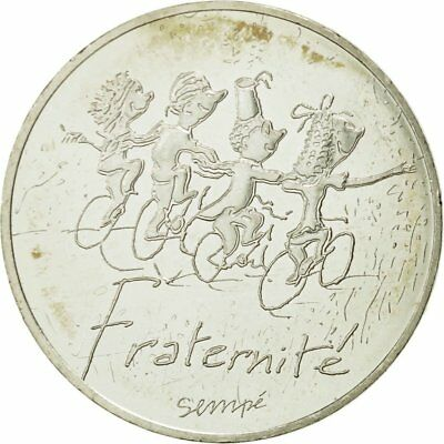 465793 Monnaie France 10 Euro Fraternité Printemps Sempé 2014