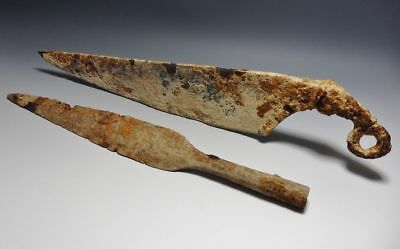 SWORD  CELTIC  SWORD AND LARGE SPEAR GROUP  750 BC to 12 BC,