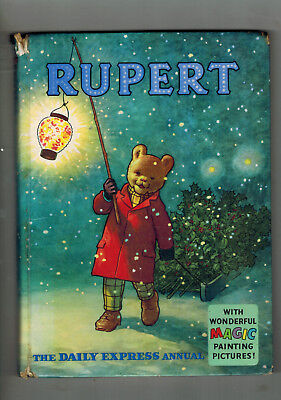 RUPERT ANNUAL 1960 original book - G