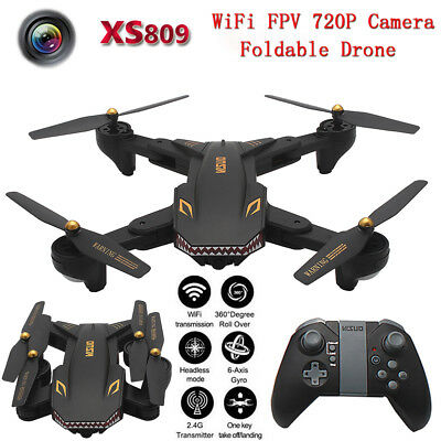 TIANQU VISUO XS809S Foldable WiFi FPV Camera Altitude Hold RC Drone Quadcopter