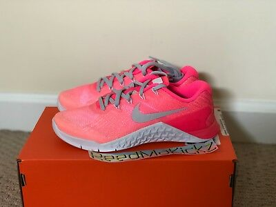 ee87597ee4a49 NIKE METCON 3 Fade Pink Sunset Glow womens sizes 902175 800 -  59.99 ...